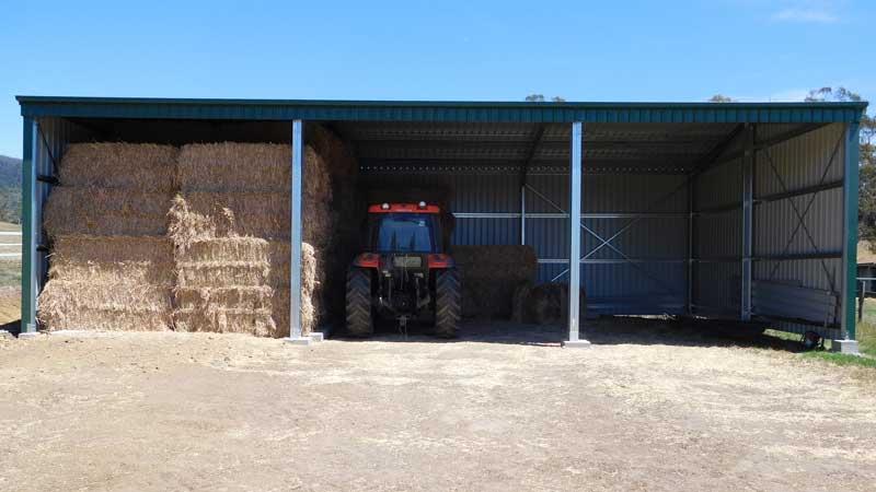 Open Bay Farm Shed