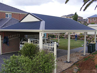 Link to our carport section.