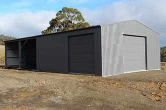 Link to our industrial sheds section.